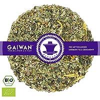 """N° 1327: biologique in foglie """"Mate Energy"""" - 100 g - GAIWAN GERMANY - tè verde menta, tè in foglie, tè bio, mate verde, zenzero, dalla Cina, tè cinese, nana menta, liquirizia, limone, cassia, pepe nero, calendula"""