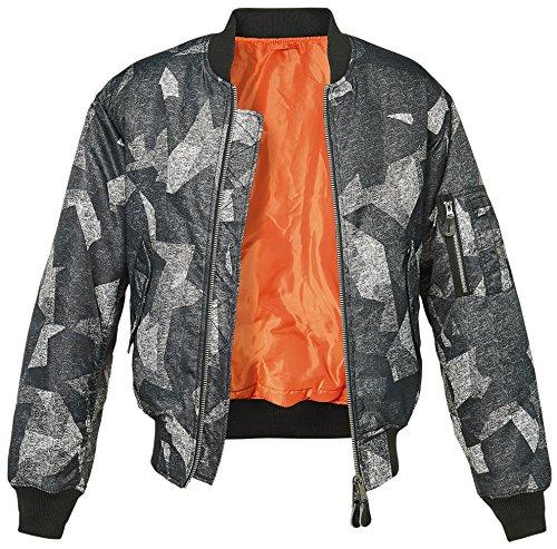 Brandit MA1 Camo Jacke Nightcamo XL