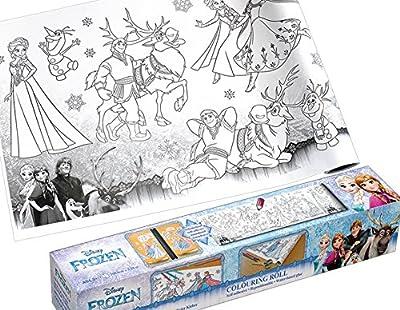 Disney Sis SUCCE ssfull Deas–Solutions–malrolle autoadhesivos Anna y Elsa–großar Tiger límites Reina de Hielo–Frozen para niños–Manualidades–Libro para Colorear de Global Notes