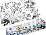 Disney Malrolle selbstklebend Anna und ELSA - Großartiger Malspaß Eiskönigin - Frozen für Kinder - Basteln - Malbuch
