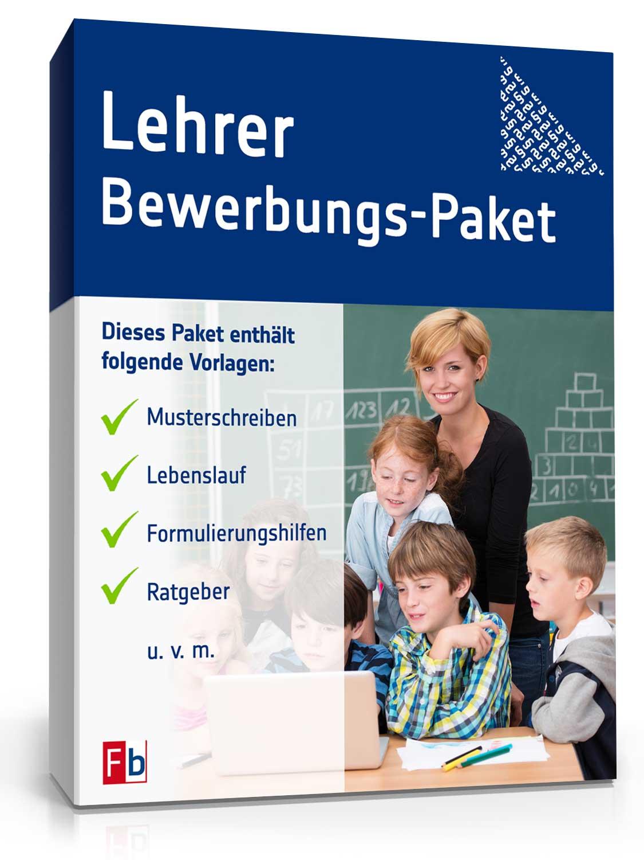 Lehrer Bewerbungs-Paket [Download]