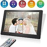 Cadre Photo Numérique 10 Pouces 16: 9 écran LCD 1024 * 768, Paquet Cadeau, Vidéo MP3 Lecteur