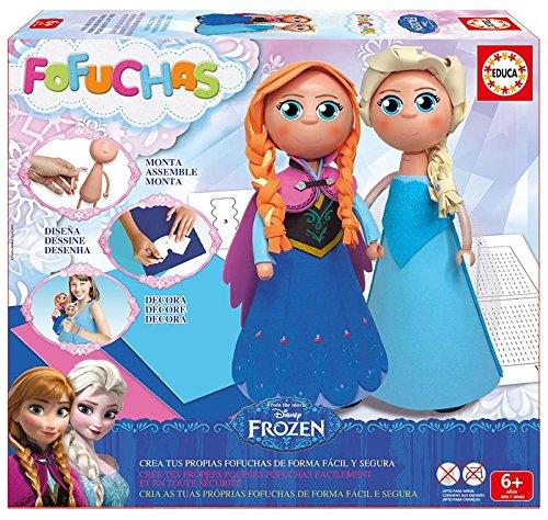 Fofuchas - Set con diseño Elsa y Ana de Frozen (Educa Borras 16456)