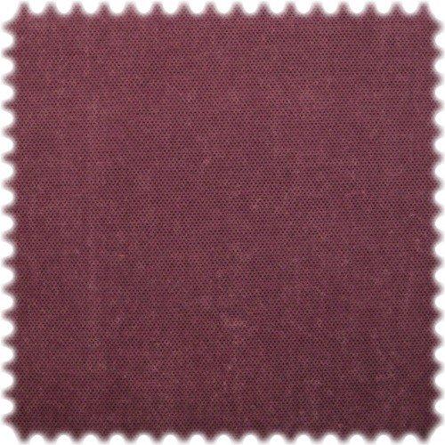 polstereibedarf-online AKTION Original Microfibres® Flockvelours Möbelstoff LONGLIFE Punto Bordeauxviolett