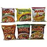 60x Mama und Yum Yum Instant Nudelsuppen Mix 6 Sorten zur Auswahl