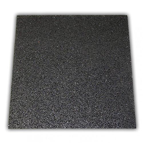 haggiy® Waschmaschinenunterlage / Antivibrationsmatte / Schwingungsdämpfer | 60x60x1 cm
