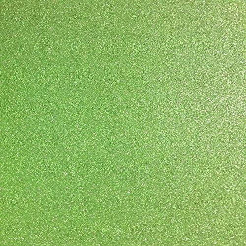ier Glänzend Bastelpapier A4 Farbiges Tonpapier Sortiert Glitzer Karte Glitterkarton Patchwork Bling-Bling Karton für DIY Handwerk Scrapbooking grün (Monogramm-aufkleber)