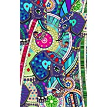 Password Journal: Password Keeper / Elephant Gifts ( Internet Address Logbook / Diary / Softback Notebook ) [ Carnival ]