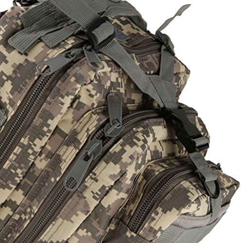 Generic All'aperto Militare Escursioni Borsa Zaino per Campeggio Trekking Tattico 30L Sacchetto - #1 #3