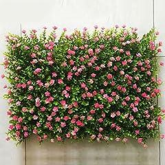 Idea Regalo - Tappeto erboso artificiale, Tappeto erboso artificiale, Erba sintetica finta per arredo interno/esterno, Decorazione vegetale finto fiore (Color : 6)