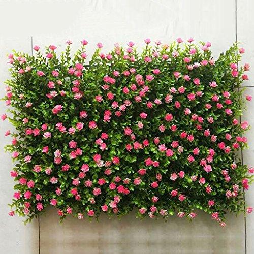 Tappeto erboso artificiale, Tappeto erboso artificiale, Erba sintetica finta per arredo interno/esterno, Decorazione vegetale finto fiore (Color : 6)