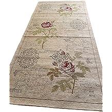 Alfombra/Camino clásica,estilovintage–Antideslizante y lavable–Diferentes tamaños–con motivos orientales/Rosa/fucsia, chenilla, magenta, 70 x 150 cm