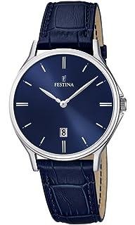 33ad7d2b785 Montre bracelet de luxe Vincero Kairos pour homme - Cadran bleu avec ...