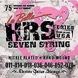 La Bella 011.014.018.036w.046.052.070 Jeu de cordes pour Guitare électrique 7 cordes
