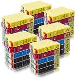 ms-point® 30 kompatible Druckerpatronen für Epson Epson Stylus S22 / SX125 / SX130 / SX230 / SX235 W / SX420 W / SX425 W / SX430 W / SX435 W / SX440 W / SX445 W / Office BX 305 F / BX 305 FW / BX 305 FW Plus