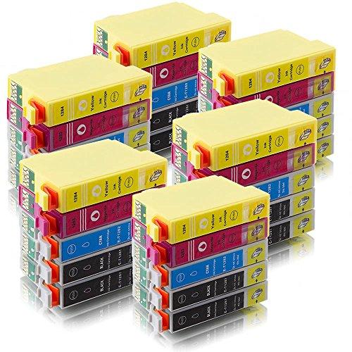 Preisvergleich Produktbild ms-point® 30 kompatible Druckerpatronen für Epson Epson Stylus S22 / SX125 / SX130 / SX230 / SX235 W / SX420 W / SX425 W / SX430 W / SX435 W / SX440 W / SX445 W / Office BX 305 F / BX 305 FW / BX 305 FW Plus