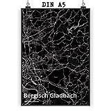 Mr. & Mrs. Panda Poster DIN A5 Stadt Bergisch Gladbach