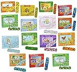 Unbekannt 3 Set´s: 10 Kinderpflaster im Pflasterheftchen - mit Mädchen Motiven - Pflaster für Kinder und Erwachsene - Kinderpflaster