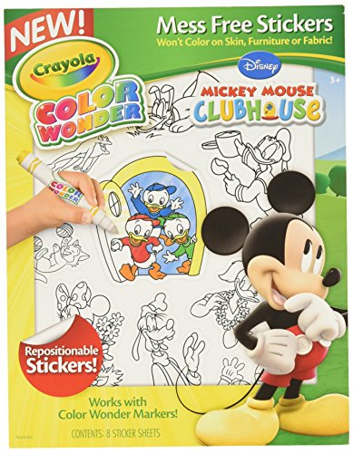 Crayola Farbe Wonder Aufkleber, Mickey Mouse Club House (75-5852) (Und Crayola Farbe Aufkleber)