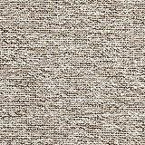 Fabulous Fabrics Strickstoff Bouclé – grau — Meterware ab 0,5m — zum Nähen von Jacken, Pullovern und Strickjacken