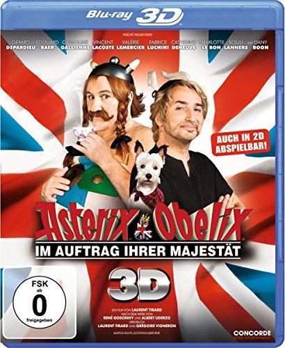 Bild von Asterix & Obelix - Im Auftrag Ihrer Majestät 3D [Blu-ray 3D]