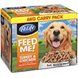 HiLife Feed Me Dog Food Turkey Chicken & Fresh Vegetables With Bacon 6kg