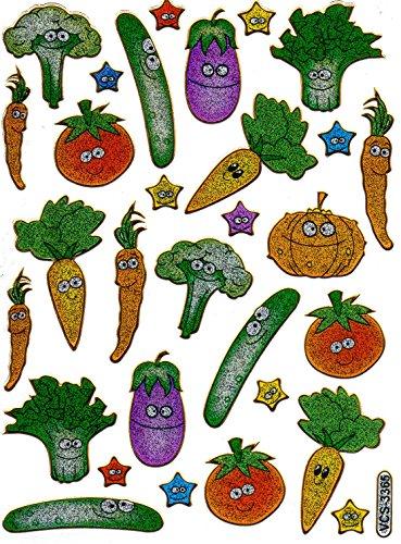 gemuse-gurke-tomate-karotte-bunt-aufkleber-29-teilig-1-blatt-135-mm-x-100-mm-sticker-basteln-kinder-