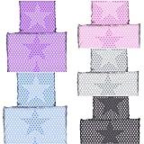 Aminata Kids – schöne 2-teilige Kinder Bettwäsche mit Sternen | Bettbezug á 135x200 cm | Mikrofaser + Reißverschluss | Sternchen-Motiv in Grau Anthrazit Weiß | Bettwäsche Garnitur | Jungen & Mädchen