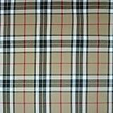 Pepelinchen Flanell Tartan Check - beige/schwarz/rot
