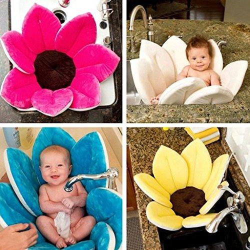 Baby Bath Blooming Blume Badewanne - Highdas Blühendes Bad Blumenbad für Baby Blooming Sink Bad für Baby Infant Lotus - 2