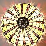 HBA 16 Zoll Continental retro Schlafzimmer Restaurant Bar Wendeltreppe Tiffany Glaskunst Decke