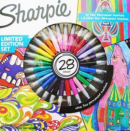 sharpie-fine-permanent-marker-limited-edition-assorted-colours-pack-of-28