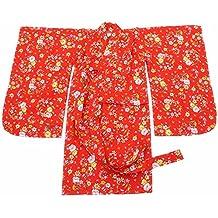 Vestido de Pijamas de Kimono de Kimono Estilo japonés para niñas - # C
