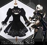 Skylynn--Gioco NieR:Automata Costumi carattere YoRHa No. 2 Type B cosplay Costumi e-mail il vostro formato(M 155-160cm)