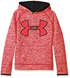 Under Armour AF Storm Twist Highlight Hdy Sweat Garçon, Rouge, FR : YLG (Taille Fabricant : YLG)