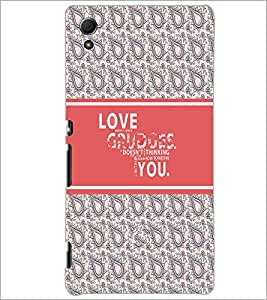 PrintDhaba Quote D-3218 Back Case Cover for SONY XPERIA Z4 (Multi-Coloured)