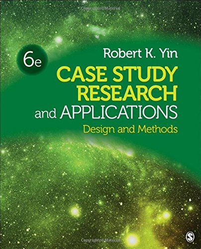Case Study Research and Applications: Design and Methods por Robert K. Yin