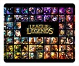 League Of Legends Champions Rectangle Mouse Pad by ieasycenter