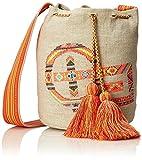 Chiemsee Tasche Umhängetasche Schultertasche 28x20x15cm Ocean Beachbag Prairie Sand 1610 Bowatex