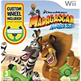 Madagascar: Kartz - Wheel Bundle (Wii)  - Wii Remote Not Included [import anglais]