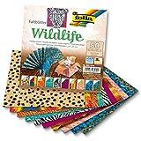 "Folia Basics Origami Paper 6""X6"" 50/Pkg-Wildlife"