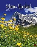 Schönes Alpenland Posterkalender - Kalender 2016 - Heye-Verlag - Wandkalender - 34 cm x 44 cm