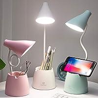 Lampada da Scrivania, Lampada da Tavolo LED Bambini con 3 Modalità di Illuminazione e Sensore Tattile, Dimmerabil…
