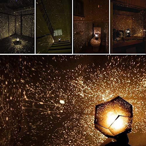 Festival Ausrüstung, Hauptdekoration,Sternenlichtprojektor Four Seasons Sternenlichtprojektor Romantischer Sternenlichtprojektor (Halloween-party Seasons Four)