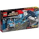 LEGO - El Quinjet de los vengadores en la ciudad, multicolor (76032)