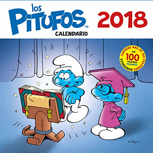 Calendario los Pitufos 2018 (Base Kids)
