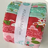 Riley Blake Jelly Roll – 18 – Garden