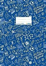 """Herma""""Schoolydoo"""", copertina in plastica, A4, fantasia, 1 pezzo Blu."""