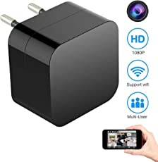 IFITech Hidden Spy Camera 1080P HD USB Wall Charger Camera for Use in home security
