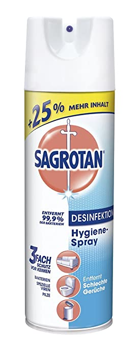 Sagrotan Desinfektion Hygiene-Spray Aerosol, 3er Pack (3 x 500 ml ...